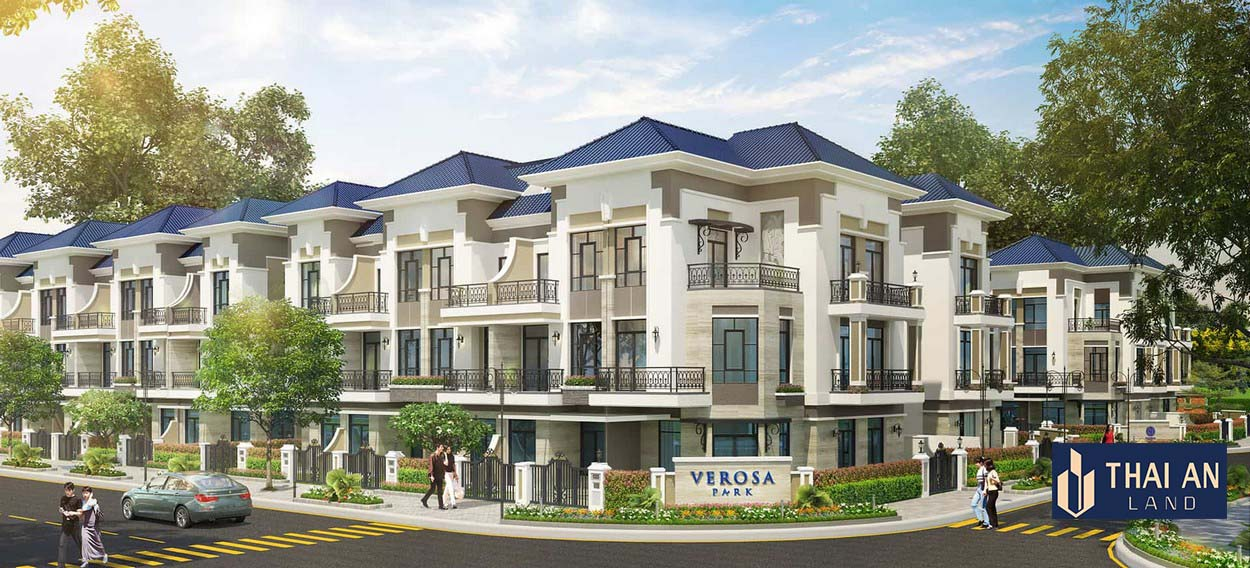 Dự án nhà phố biệt thự Clarita Khang Điền