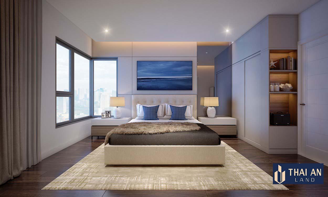 Phòng ngủ nhà mẫu Lovera Premier Khang Điền