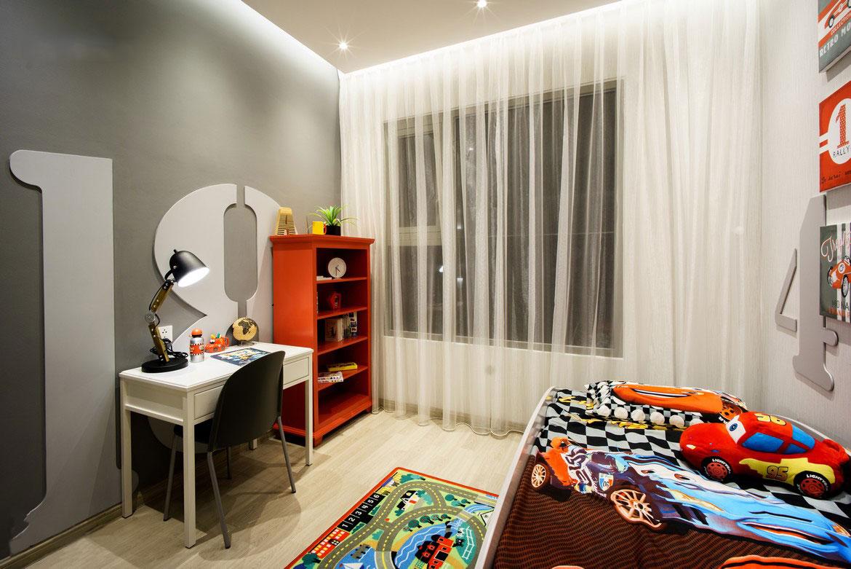 Nhà mẫu căn hộ Sky 89 diện tích 114m2 thiết kế 3 Phòng ngủ - 2 Vệ sinh