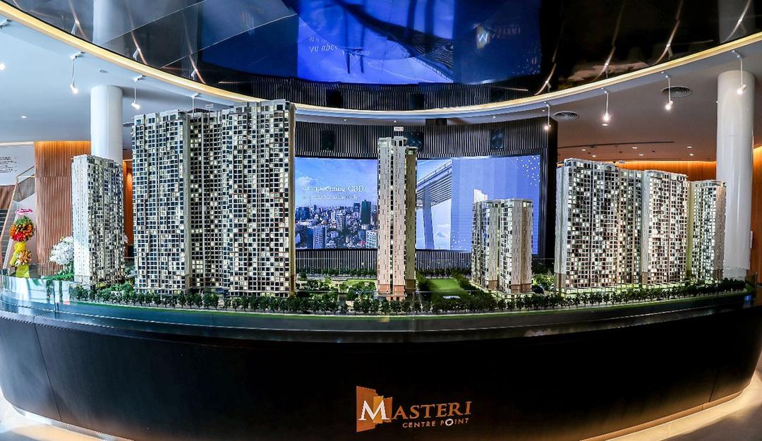 Hệ thống sa bàn 3D tại Masteri Centre Point