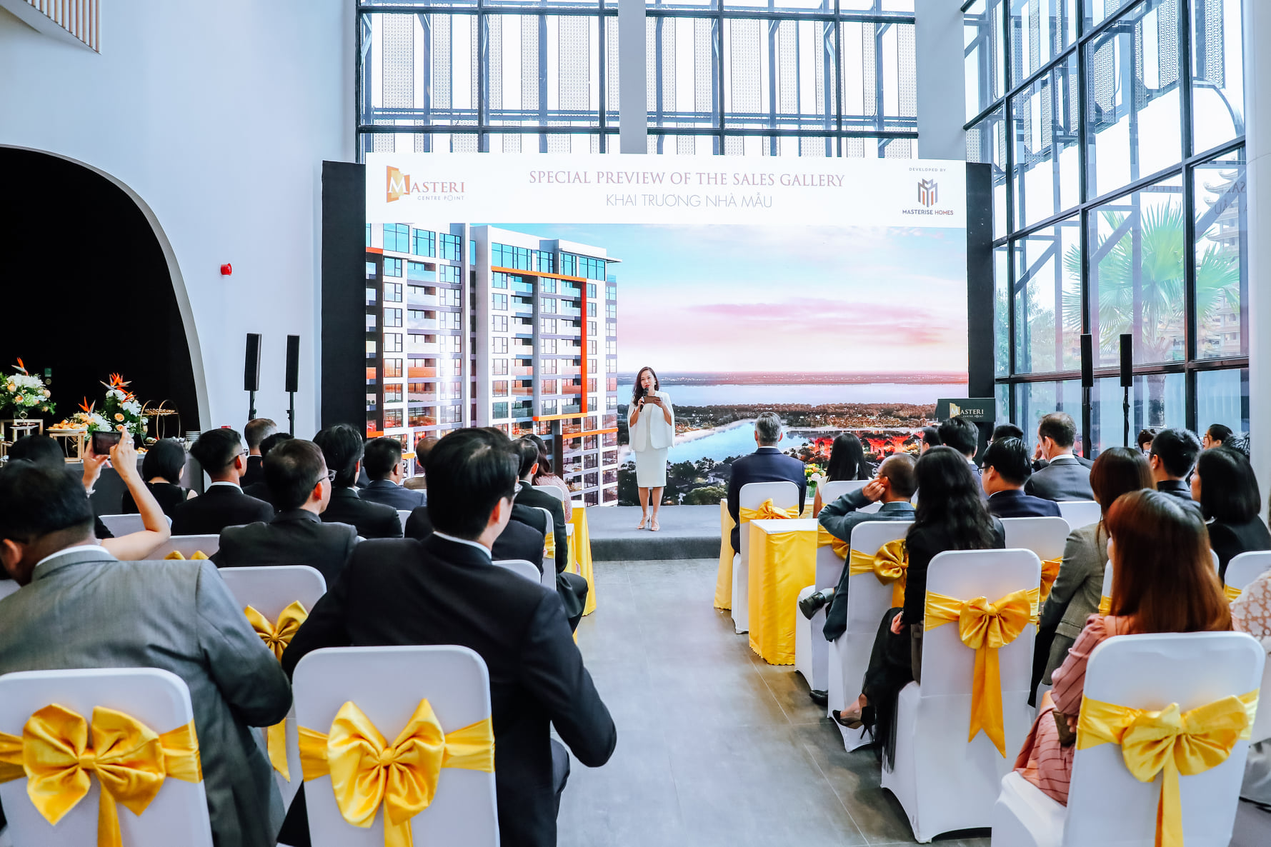 Lễ khai trương nhà mẫu Masteri Centre Point của chủ đầu tư Masterise Homes