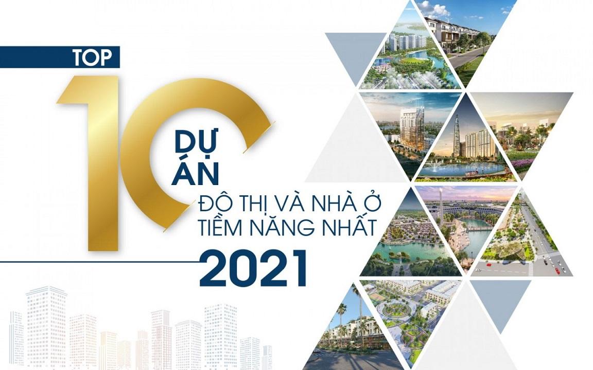 Dự án duy nhất ở Long An đạt top 10 dự án đô thị và nhà ở tìm năng nhất 2021