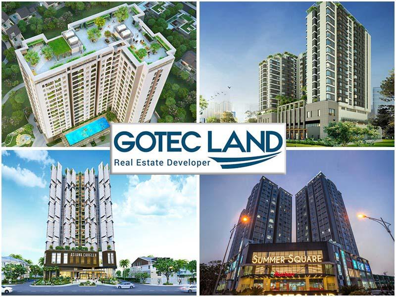 Gotec Land đã triển khai các dự án nào?